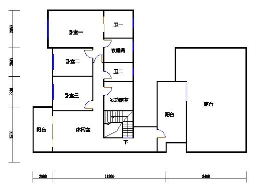 10号楼12层A座01单元二层