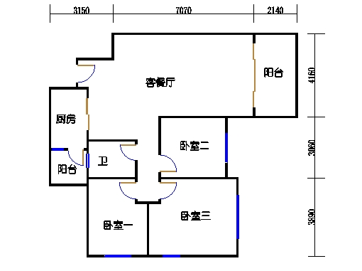 10号楼11层A座03单元