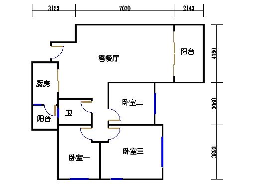 10号楼11层C座03单元