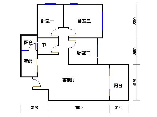10号楼11层C座04单元