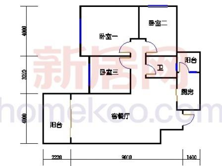 10号楼1层A-03单元