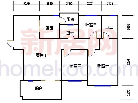 10号楼1层B-02单元