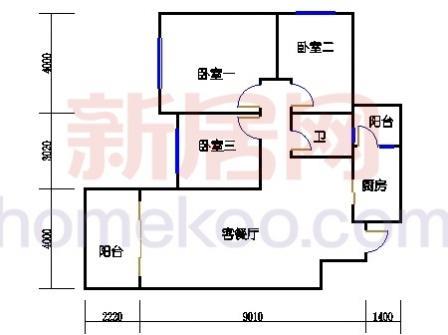 10号楼1层B-03单元