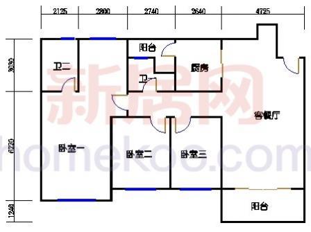 10号楼2层A-01单元
