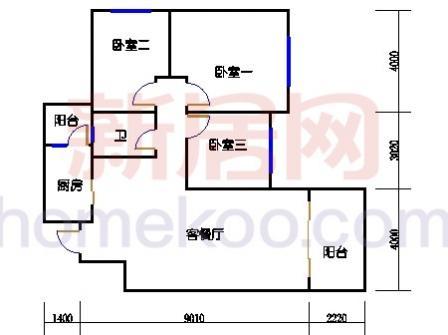 10号楼2层B-04单元