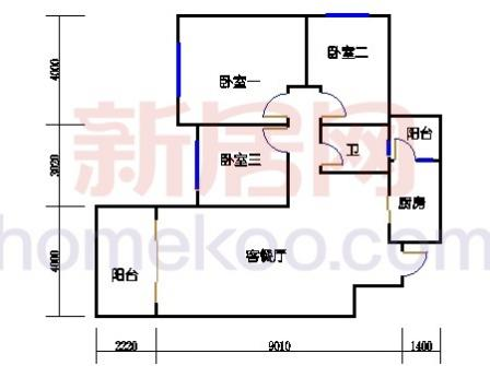 10号楼3层B-03单元
