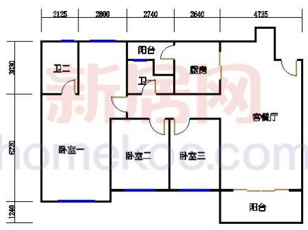 10号楼4层A-01单元