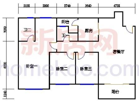 10号楼4层B-01单元