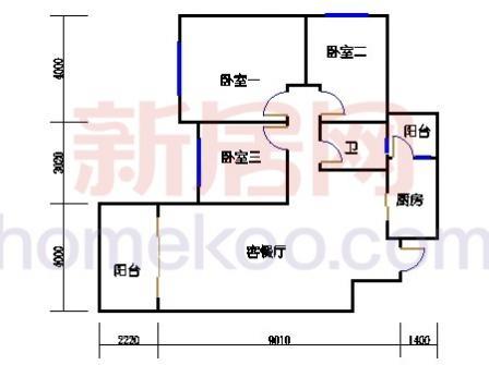 10号楼4层B-03单元
