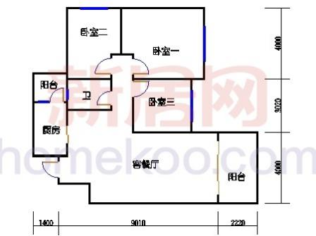 10号楼4层C-04单元