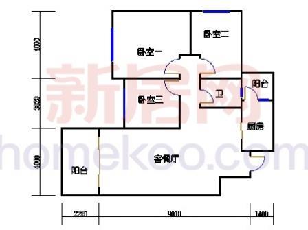10号楼5-8层B-03单元