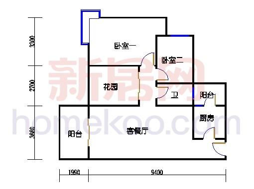 4-5-6栋G2层01单元