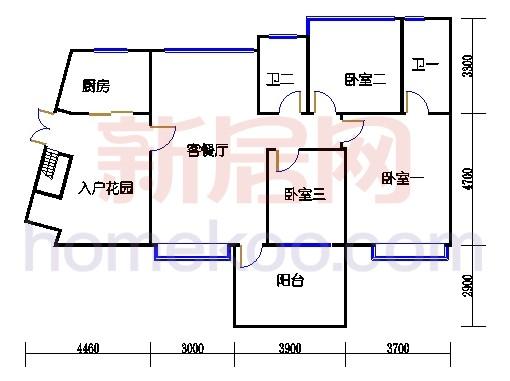 11-12-13-14-15-16栋2-10层03单元