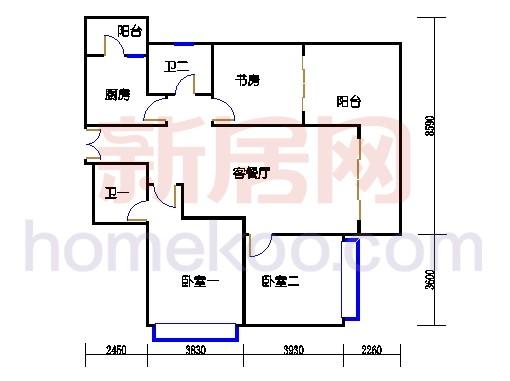 4栋7楼(雅致户型)