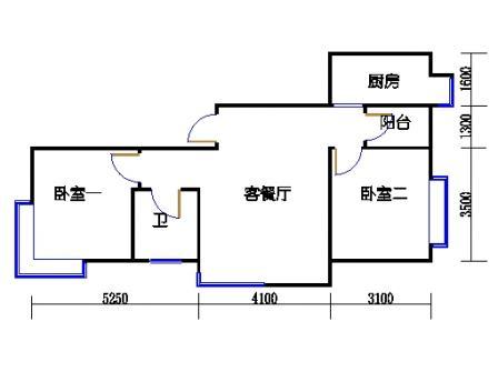 B8号楼1单元7楼1号