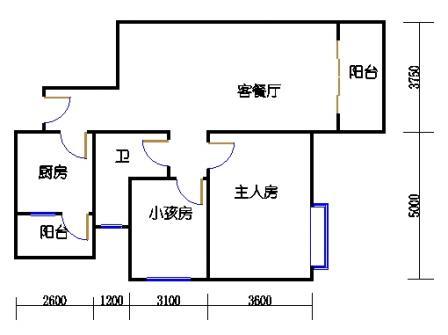 1栋3-9层02单元