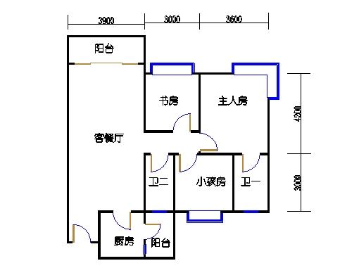 1栋3-9层04单元