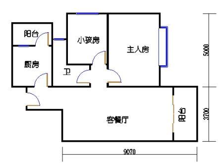 2栋3-9层01单元