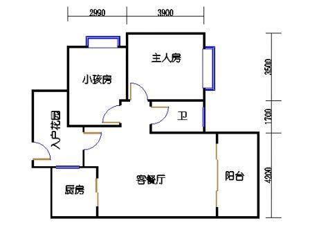 2号楼第1幢一层01单元