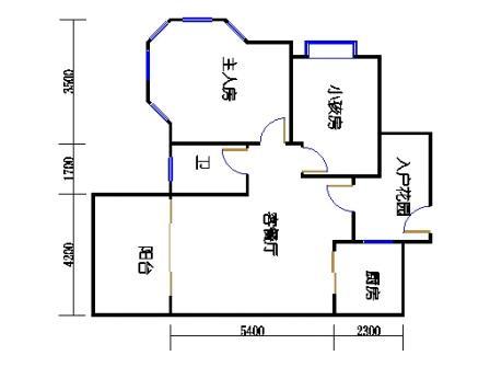 2号楼第1幢一层02单元