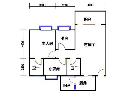 2号楼第3幢一层03单元