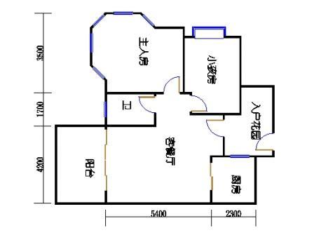 2号楼第1幢二层02单元