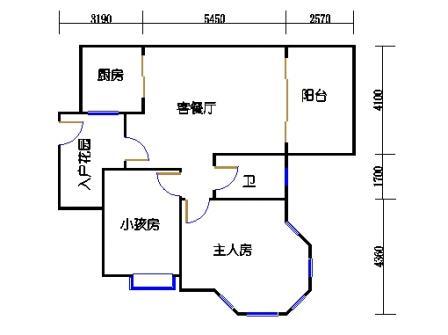 2号楼第1幢四层02单元
