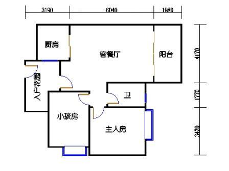 2号楼第3幢四层02单元