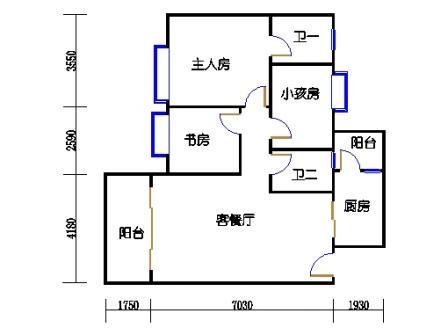 2号楼第3幢四层04单元