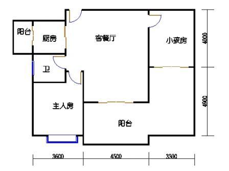 1号楼第1幢一层01单元