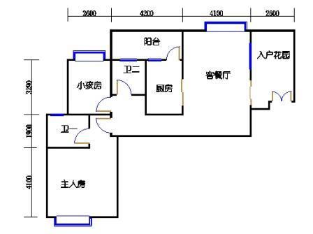 1号楼第1幢一层03单元