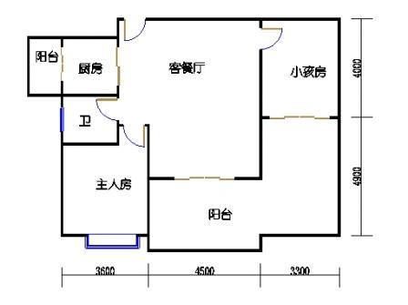 1号楼第3幢一层01单元