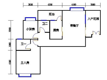 1号楼第1幢二层03单元