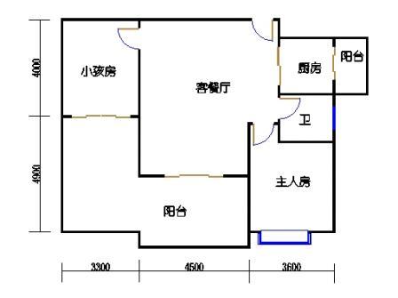 1号楼第3幢二层02单元