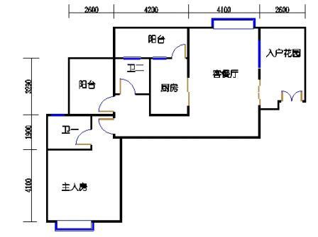 1号楼第3幢二层03单元