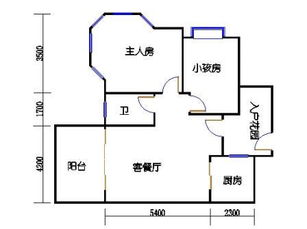 1号楼第1幢三层02单元