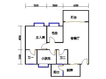 1号楼第3幢三层03单元