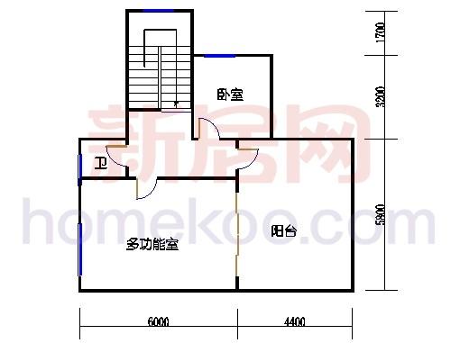 A2别墅三层