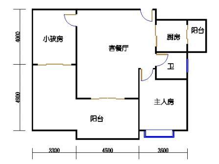 1号楼第1幢十-十一层02单元