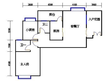 1号楼第1幢十-十一层03单元