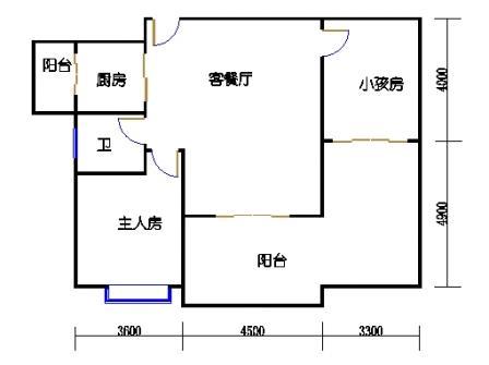 1号楼第3幢十-十一层01单元