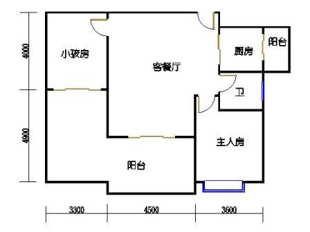 1号楼第3幢十-十一层02单元
