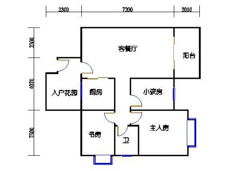 9号楼2层16号03单元