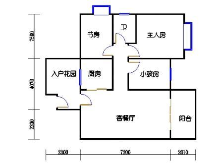 9号楼2层11号04单元