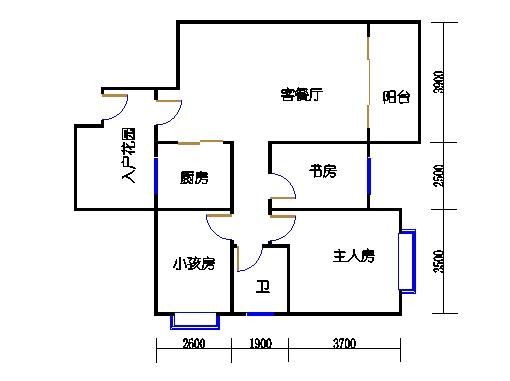 9号楼4层11号03单元