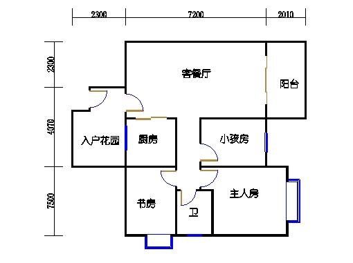 9号楼7-14层9号03单元