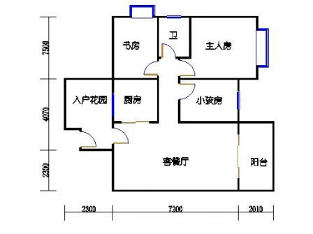 9号楼16层16号04单元