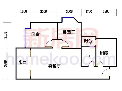A1号楼7-34层02单元