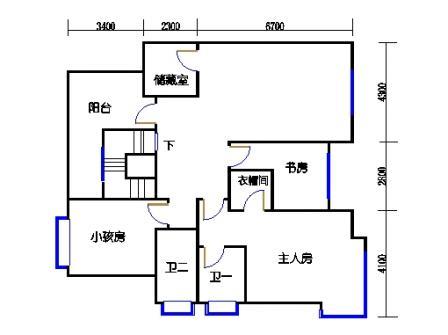 E4单元二层