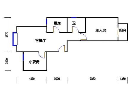 1号楼3单元4户型
